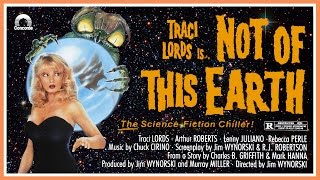 Not of This Earth (1988) French Trailer - Color / 1:35 mins