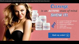 Breast Actives Review - Does this Natural Breast Enhancement System Work?★★