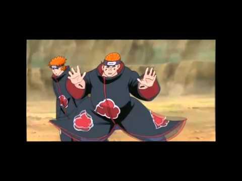 La Muerte de Pain HD Naruto