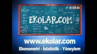 Ekonometri ve İstatistik Paket Programları Eviews Spss Excel Matlab R Pom-Qm Stata Minitab