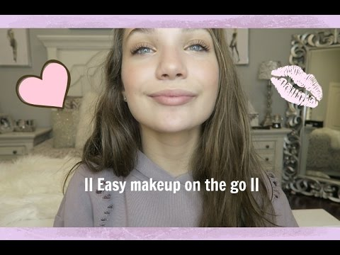 Xxx Mp4 Quick And Easy Makeup On The Go Maddie Ziegler 3gp Sex