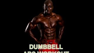DUMBBELL ABS WORKOUT