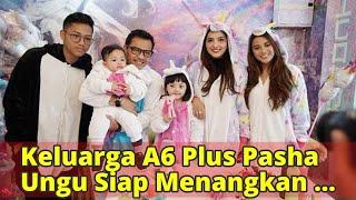 Keluarga A6 Plus Pasha Ungu Siap Menangkan Khofifah-Emil Dardak