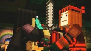 Minecraft Story Mode Season 2 Episode 3 Jack/Petra Fight