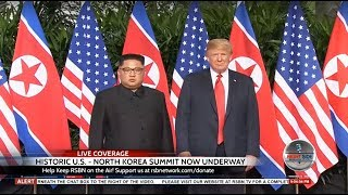 🔴 Trump-Kim Summit LIVE: Historic Coverage of First U.S. - North Korea Meeting