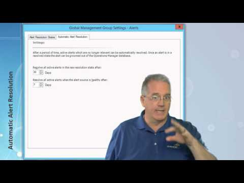 Automatic Alert Resolution with SCOM 2012 R2