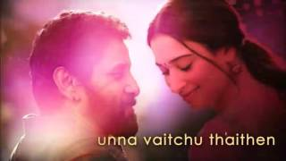 Sketch❤kannukulla unna vecha song|vikram❤| thamanna next movie|best WhatsApp status video