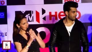 Dusky Beauty Esha Deol Encourages Girls @ Launch Of MTV Roadies X2