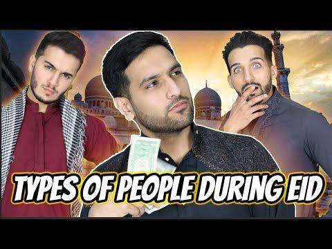 Types of People on Eid