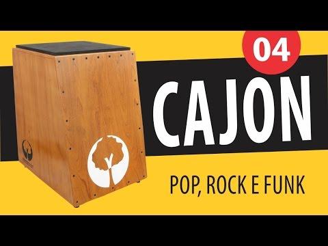 Curso de Cajon - Aula 04 (Ritmos: Pop, Rock e Funk)