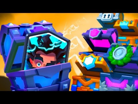 OPENING ALL CHESTS GEM SPREE Clash Royale