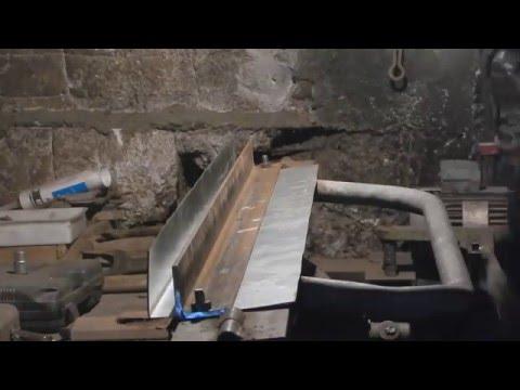 Как согнуть оцинкованный лист