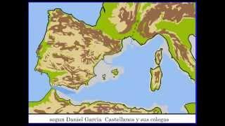Formación del Mediterraneo y de los Alpes