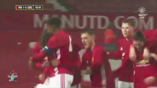 Manchester United youngster Tahith Chong scores a wonder goal in FA Youth Cup