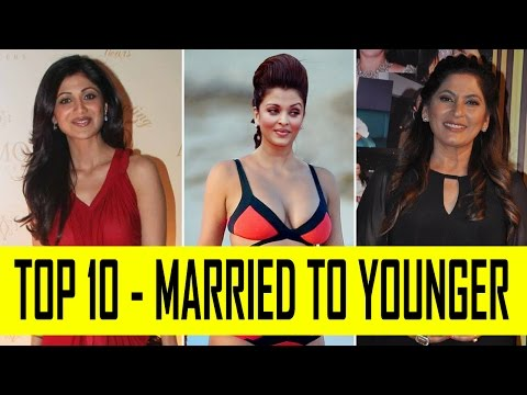 Bollywood Actress Married to Younger Man