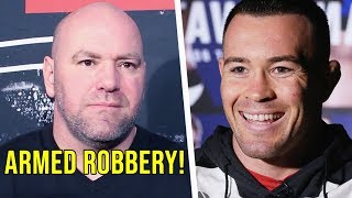 UFC 224 Staff Robbed in Brazil says Dana White; Covington Reacts to Robbery; Dana Cuts Yair