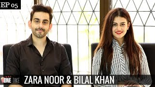 Bilal Khan & Zara Noor talk about Infamous Plane Flights & Khamoshi | Episode 5  | One Take