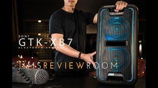 Sony GTK XB7 - BIGGEST BLUETOOTH SPEAKER EVER! - REVIEW