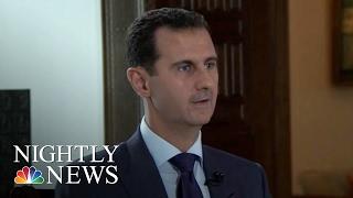 Syrian President Bashar Al-Assad: Exclusive Interview | NBC Nightly News