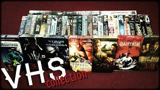 Моя коллекция VHS!!! Коллекция видеокассет 90-х и 2000-х...мой тайник(коробка)...