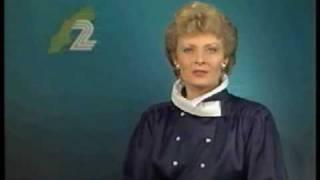 TV2-trailers + hallåa Ing-Marie Montero 1988-12-27