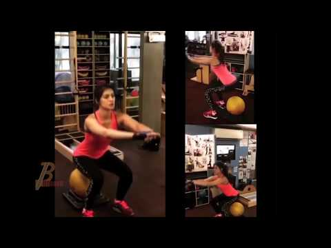 Kriti Sanon HOT Workout Video