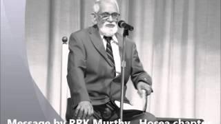 Hosea message3 by Rev. rrk murthy