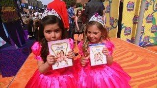 Sophia Grace & Rosie at the Kids' Choice Awards!