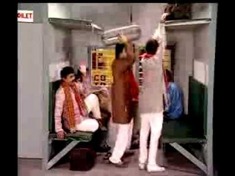 Johny Lever Funny Comedy in Train