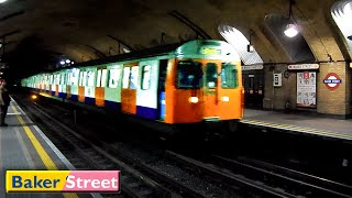 London Underground : Baker Street | Circle - Hammersmith & City lines ( S7 - C69 Stock )