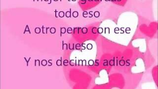La Tortura - Shakira y Alejandro Sanz (Letra)