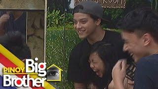 Pinoy Big Brother Season 7 Day 58: Maymay, labis ang kasiyahan nang makita sina Kathryn at Daniel