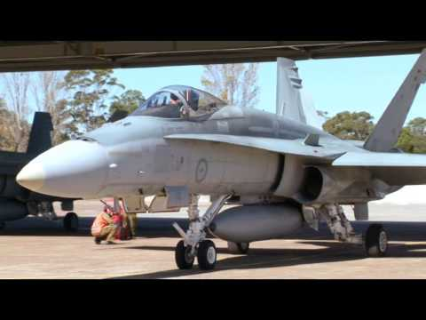 Flying With Easty - RAAF F/A-18