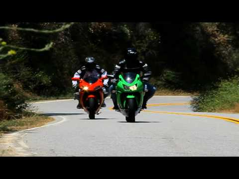 2010 Bennche Megelli 250R vs. Kawasaki Ninja 250R Motorcycle Shoot out