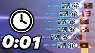 Overwatch - Most Insane INSTANT Hexakills