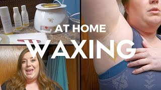 Waxing at Home with Gigi Hard Body Brazilian Waxing Kit