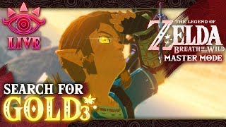 The Search for GOLD Enemies! Zelda: Breath of the Wild (Master Mode) LIVE