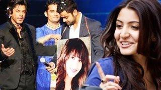 Virat Kohli CHOOSES Anushka Sharma at IPL 7 2014 Swayamwar held by Shahrukh Khan