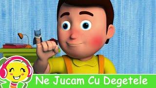 Ne Jucam Cu Degetele - Cantece De Copii - 10 Degetele Jucause