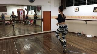 Kizomba Woman demo, tarraxinha y lady style con Lucero Huitrón