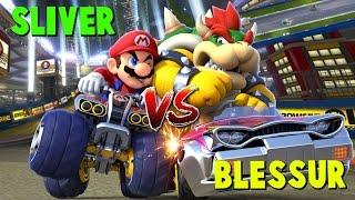 MARIO KART 8 DELUXE: TEAM BLESSUR vs TEAM SLIVER   GUERRA DE CLAN   Nintendo Switch