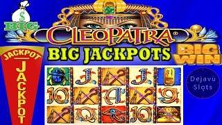 ⭐💵 BIG JACKPOT 💵⭐ CLEOPATRA HIGH LIMIT SLOT 🎰 BONUS