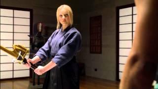 Power Rangers Super Samurai - The Great Duel - Lauren's Training (Episode 17)