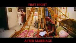 First night after marriage expectations and reality