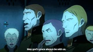 Space Battleship Yamato 2199 - Ghale Garmillon! Hail to the victory of our home.