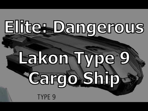 Elite: Dangerous - Flying The Lakon Type 9 Heavy Cargo Hauler
