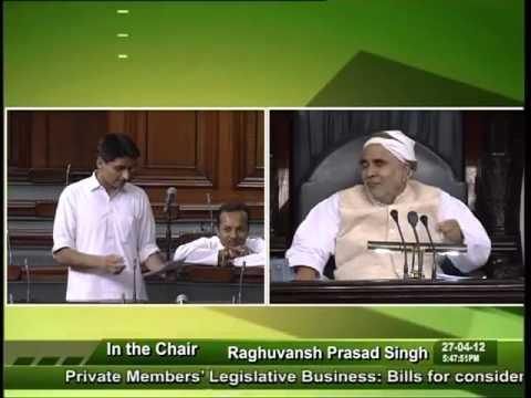 Sh  Deepender Singh Hooda speaking for Haryanvi language in Lok Sabha on 27 04 2012