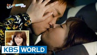 Cutie Youngji's Shocking Kiss Scene Episode [Happy Together / 2016.09.08]