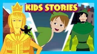 Kids Stories - Prince Stories || Happy Prince - Animated Bedtime Stories || Kids Hut Stories