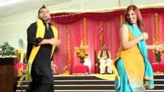 Sameer and Samreen Mehndi Dance 2012
